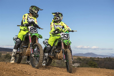 Antigravity Battery Users: Monster Energy Kawasaki Europe Team