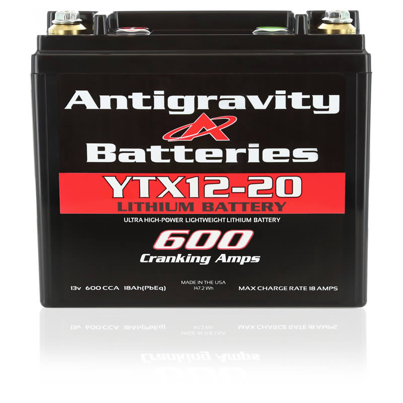 YTX12-20 Antigravity Battery Lightweight Lithium