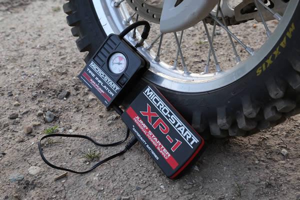 Micro-Start Tire Inflator Air Pump