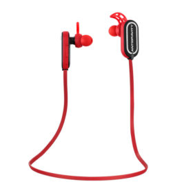 Red Thump-Buds: Bluetooth Earbuds, Wireless