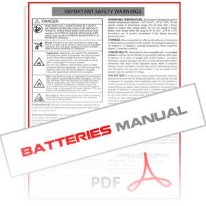 Antigravity Lithium Starter Batteries Instruction Manual