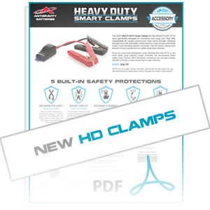 MSA11SCX-HD Clamps Info Sheet