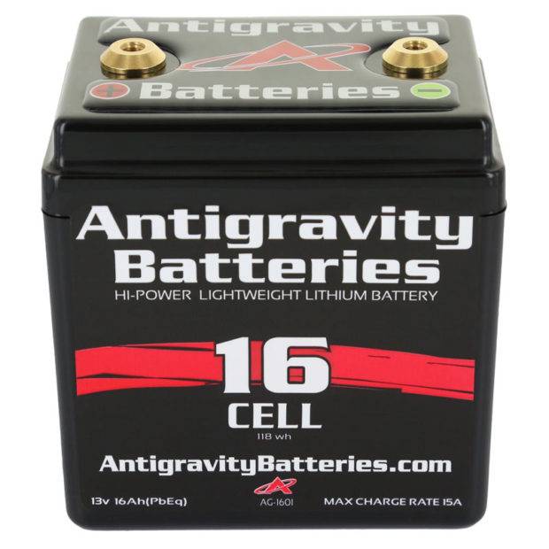 AG-1601 Ultra Compact 16-Cell Lithium Battery