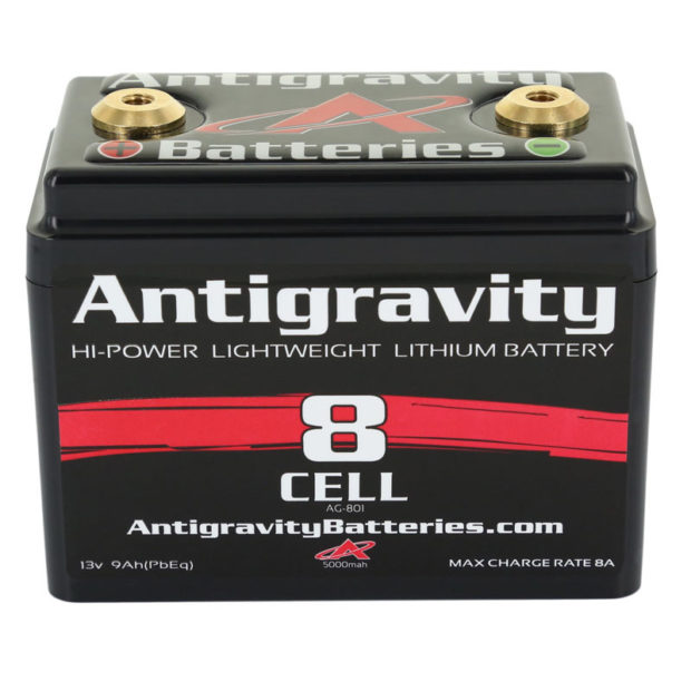 AG-801 Ultra Compact 8-Cell Lithium Battery