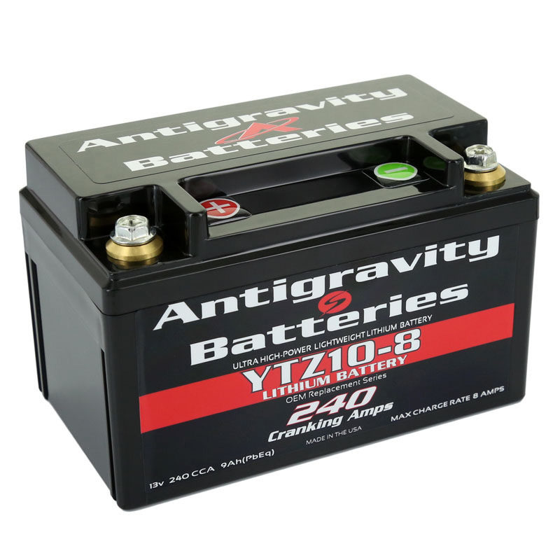Antigravity YTZ10-8 Lithium Battery