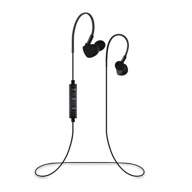 Black Micro-Buds Wireless Bluetooth Earbuds