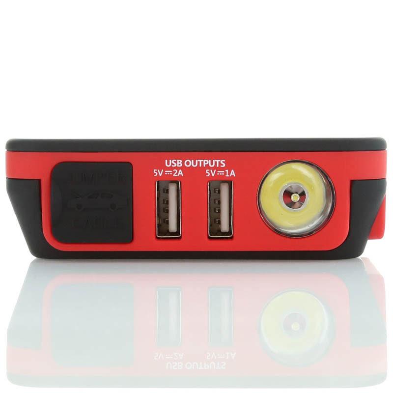 Jump-Starter USB Charger LED Flashlight XP-10