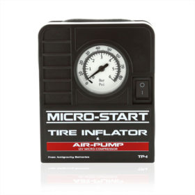 Tire Inflator Air Pump Micro-Start Accessory