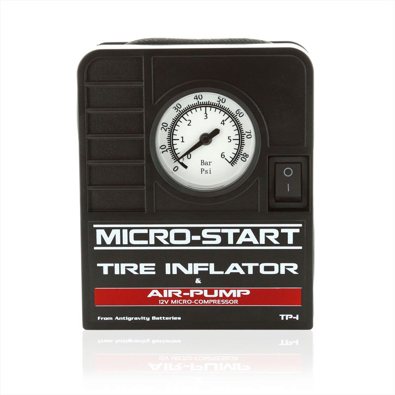 Tire Inflator Air Pump Micro-Start Accessory