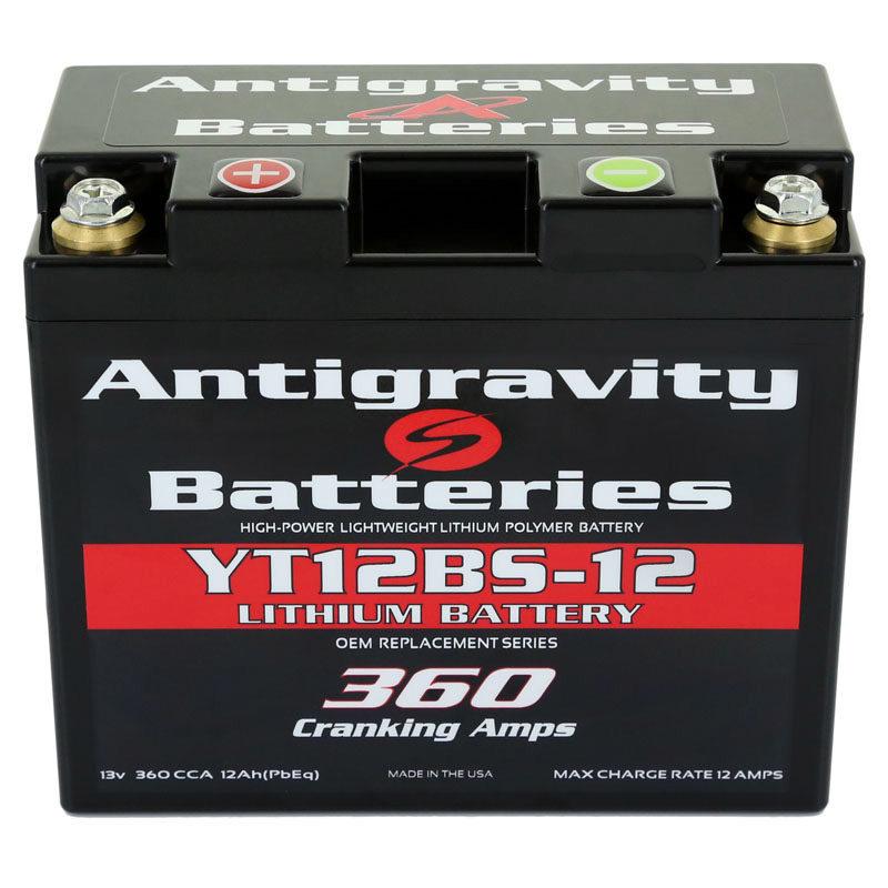 YT12BS-12 Antigravity OEM Size Battery
