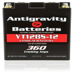 YT12BS-12 OEM Size Lithium Battery