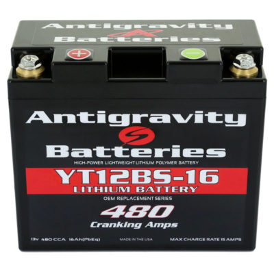 YT12BS-16 Antigravity OEM Size Battery