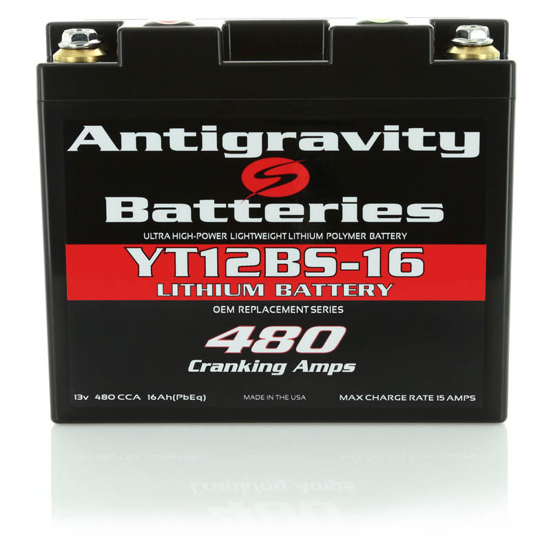 YT12BS-16 OEM Size Lithium Battery