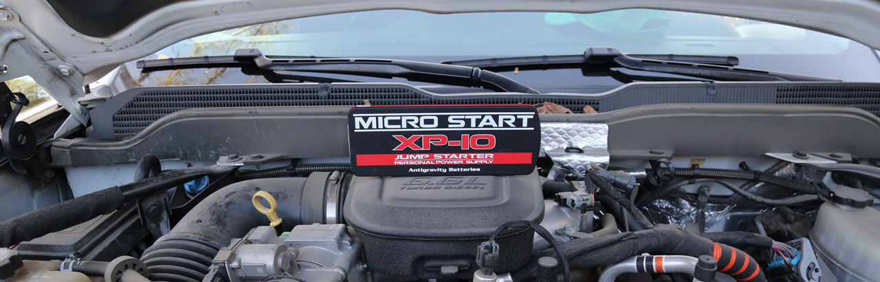 XP10 Micro-Start Diesel Jumpstarter Power Supply