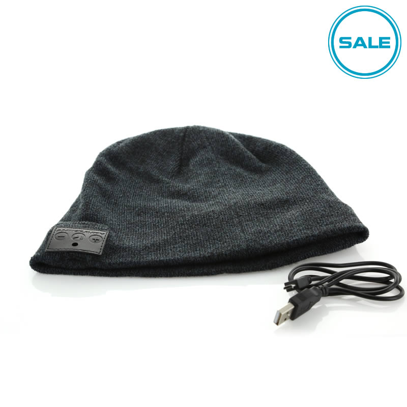 AUDIO CAP Beanie with Bluetooth Speakers by Antigravity Batteries