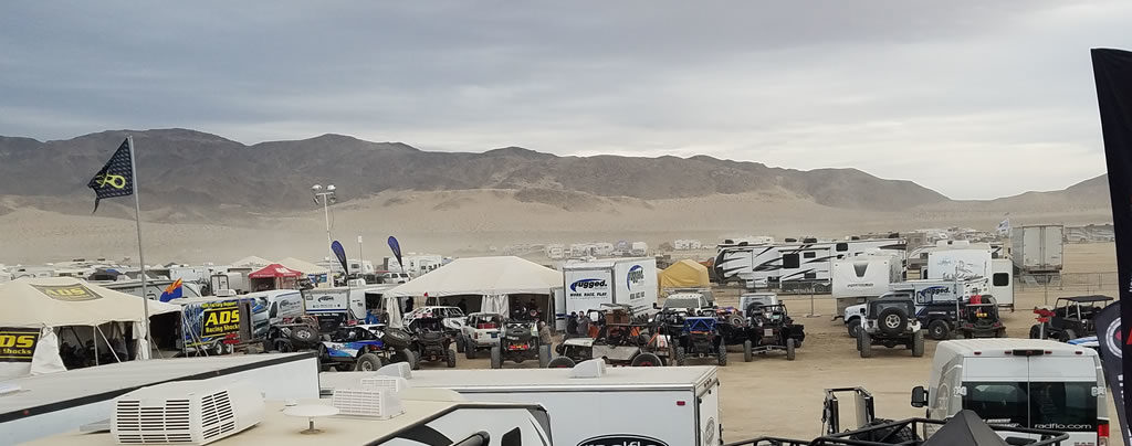 King of the Hammers (KOH) Desert Race 2017
