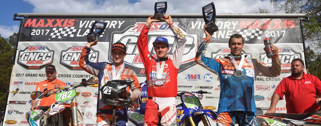 N-Fab AmPro Yamaha Team GNCC Round 3 Win