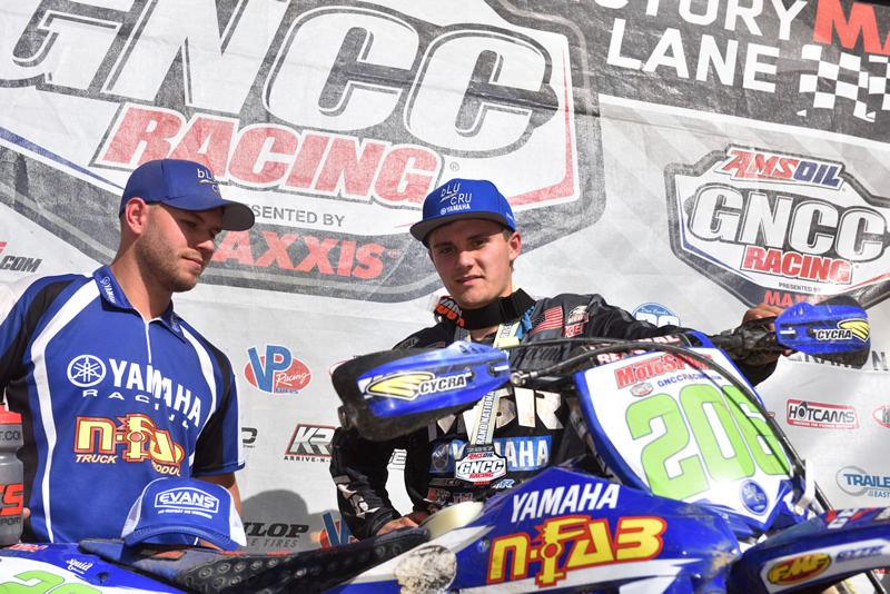 N-Fab AmPro Yamaha's Josh Toth GNCC Rd 4 Win