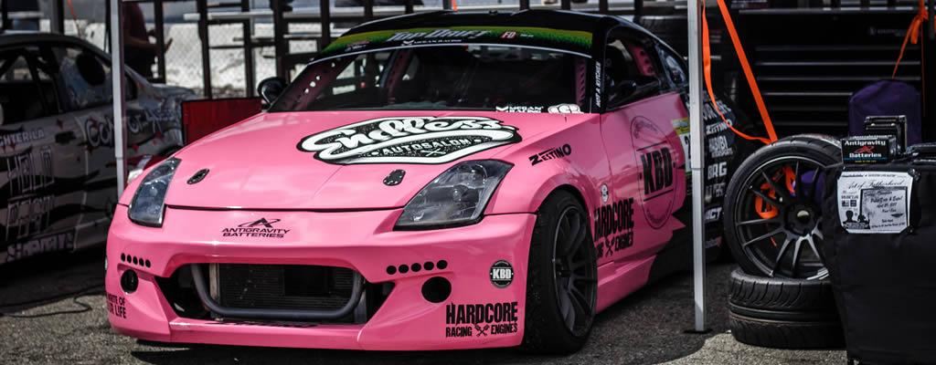 Antigravity Sponsored Rathyna Gomer, Race Car Driver