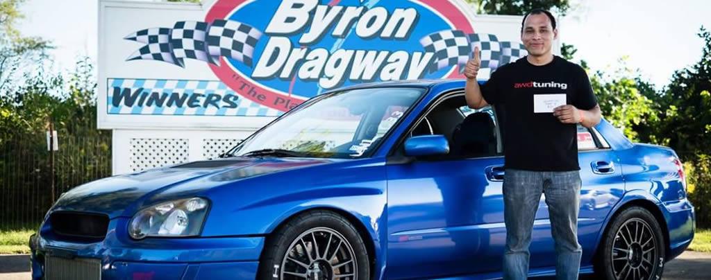 Franklin Romero, Import Drag Race Driver