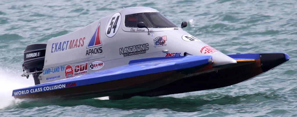 Chris Swanson & Powerboat #54