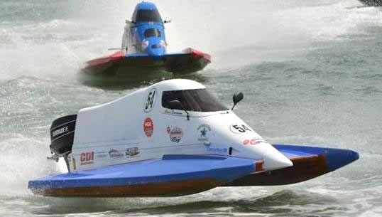 SMS Motorsports Chris Swanson Boat #54