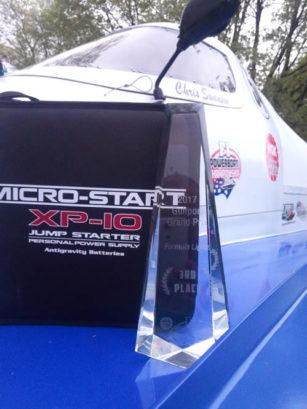 SMS Motorsports Boat #54 Trophy & XP-10