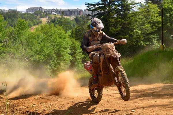 AmPro Yamaha Ricky Russell Snowshoe GNCC 2017