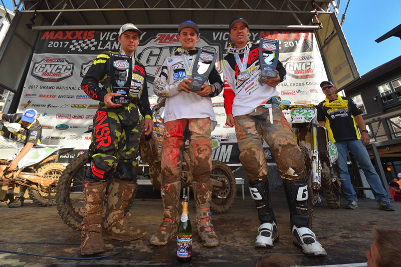 Josh Toth 1st Place Win GNCC Rd 8 AmPro Yamaha Team