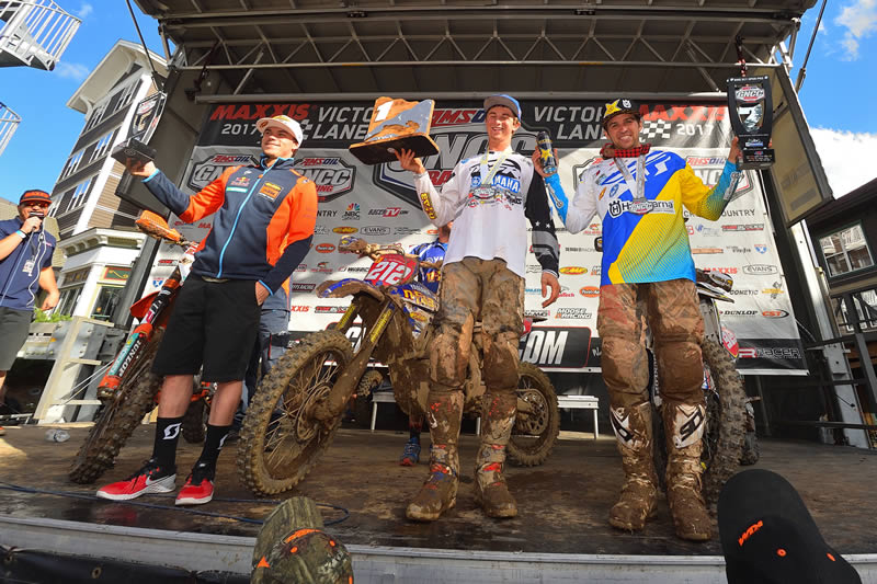 Ricky Russell 1st Place Win GNCC Rd 8 AmPro Yamaha Team