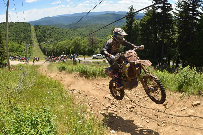 Ricky Russell GNCC Snowshoe Race