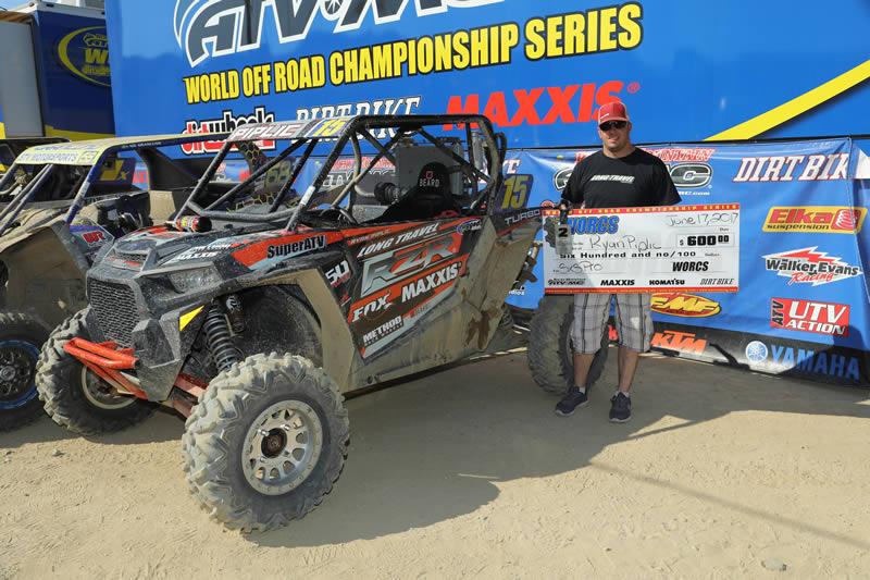 Ryan Piplic 2nd Place Win WORCS Glen Helen Raceway