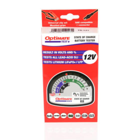 Optimate TS-127 Battery Tester Package