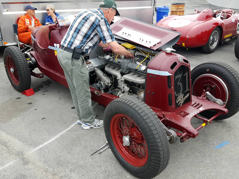 Monterey Motorsports Reunion Classic Cars