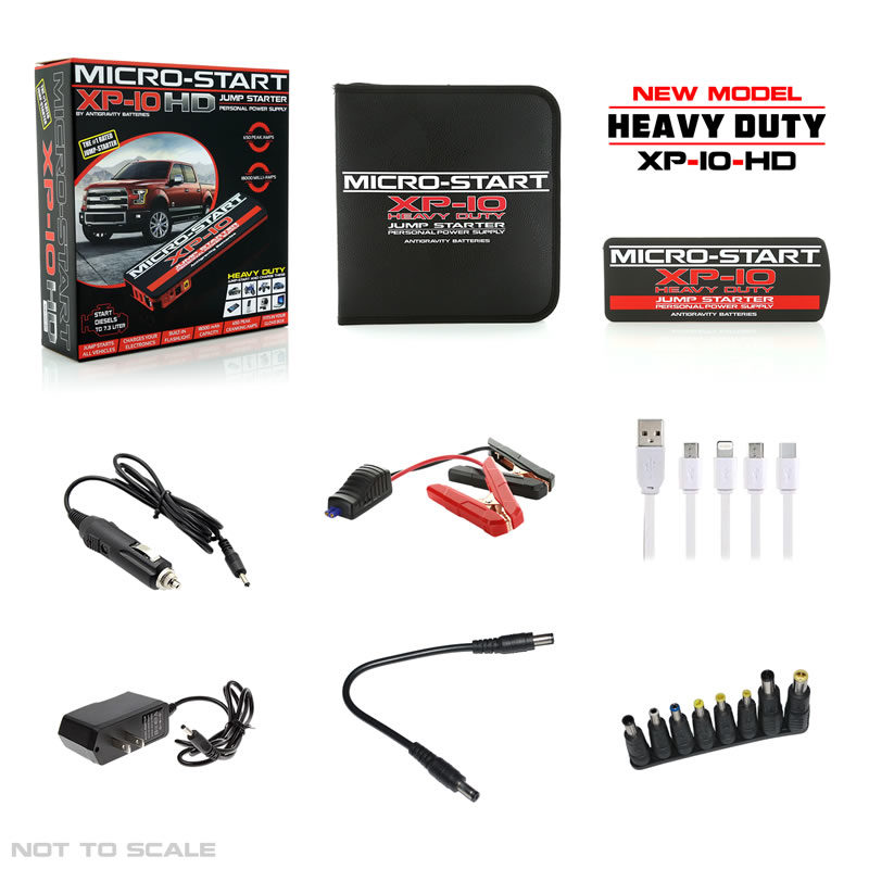 XP10-HD Complete Kit with Accessories