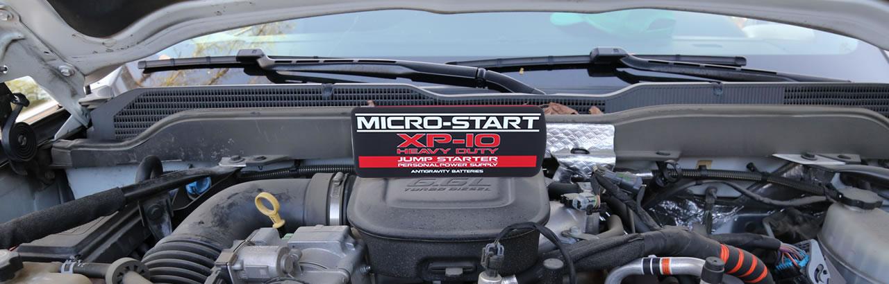 XP10-HD Micro-Start Diesel Jumpstarter Power Supply