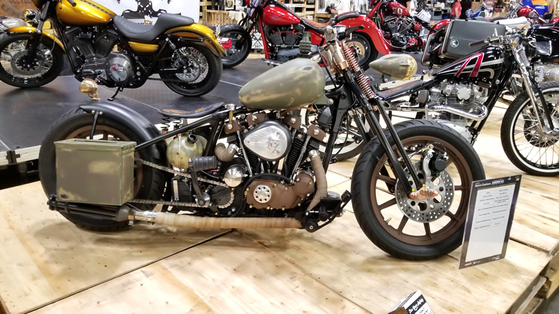 AIM Expo 2017 Retro Custom Bike