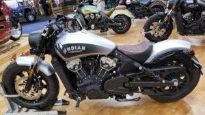 AIM Expo 2017 Indian Bike