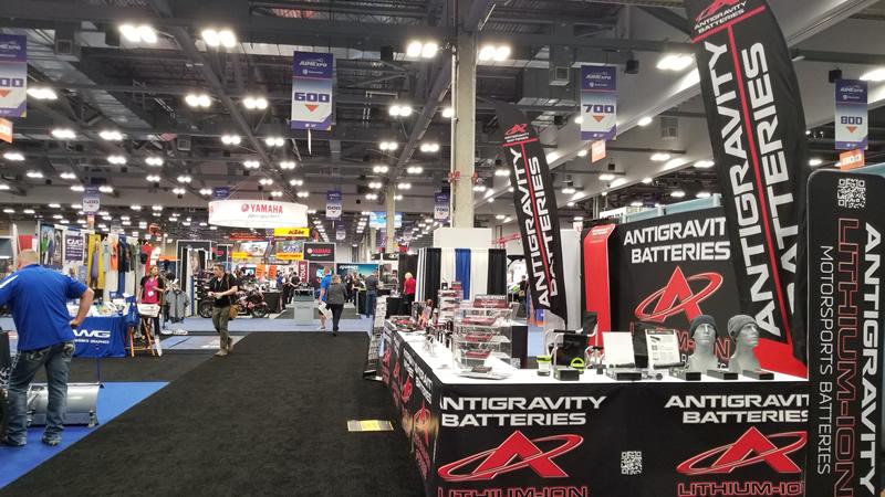 Antigravity Batteries AIMExpo Tradeshow