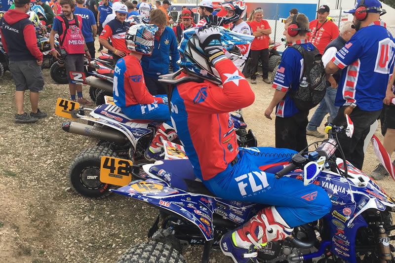 Team USA Chad Wienen, Joel Hetrick, QXON 2017