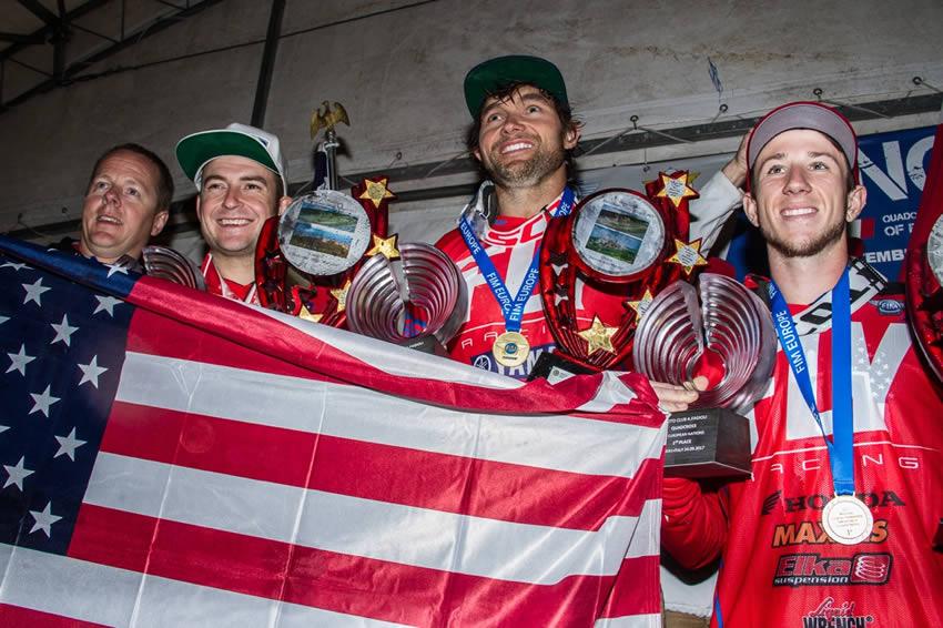 Team USA Quadrocross of Nations Win Gold 2017