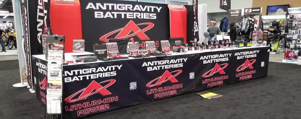 Antigravity Batteries AIM Expo 2017