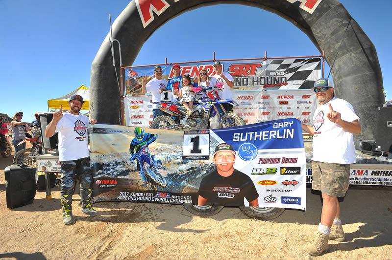 Gary Sutherlin AMA Pro Hare & Hound Champion 2017