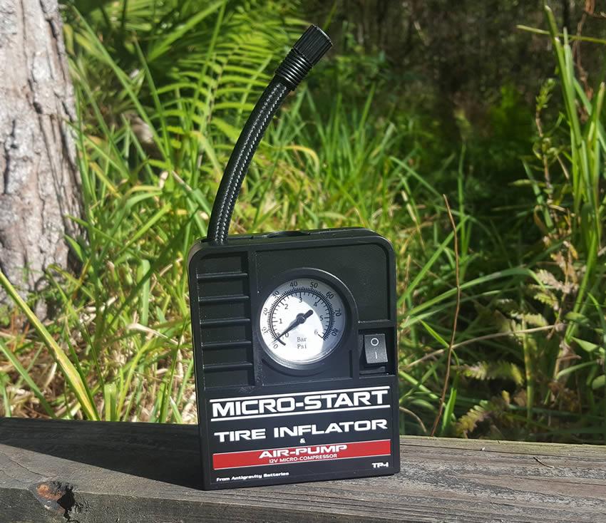 ThumperTalk Review Micro-Start Tire Inflator Air Pump