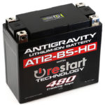 AT12BS-HD-RS Lithium Motorsports Battery with RE-START