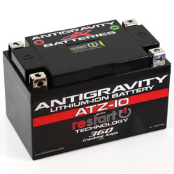 ATZ-10-RS Lithium Motorsports Battery with RE-START