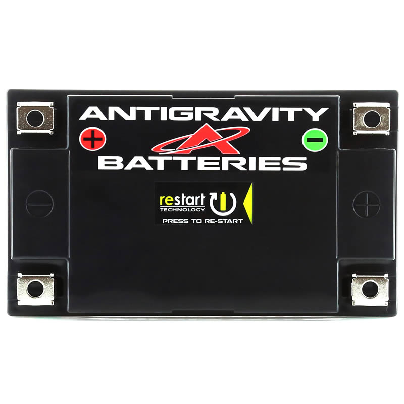 Lithium RE-START Battery with 4-Terminal Design by Antigravity