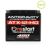 ATX-12-HD Re-Start Battery by Antigravity, front view