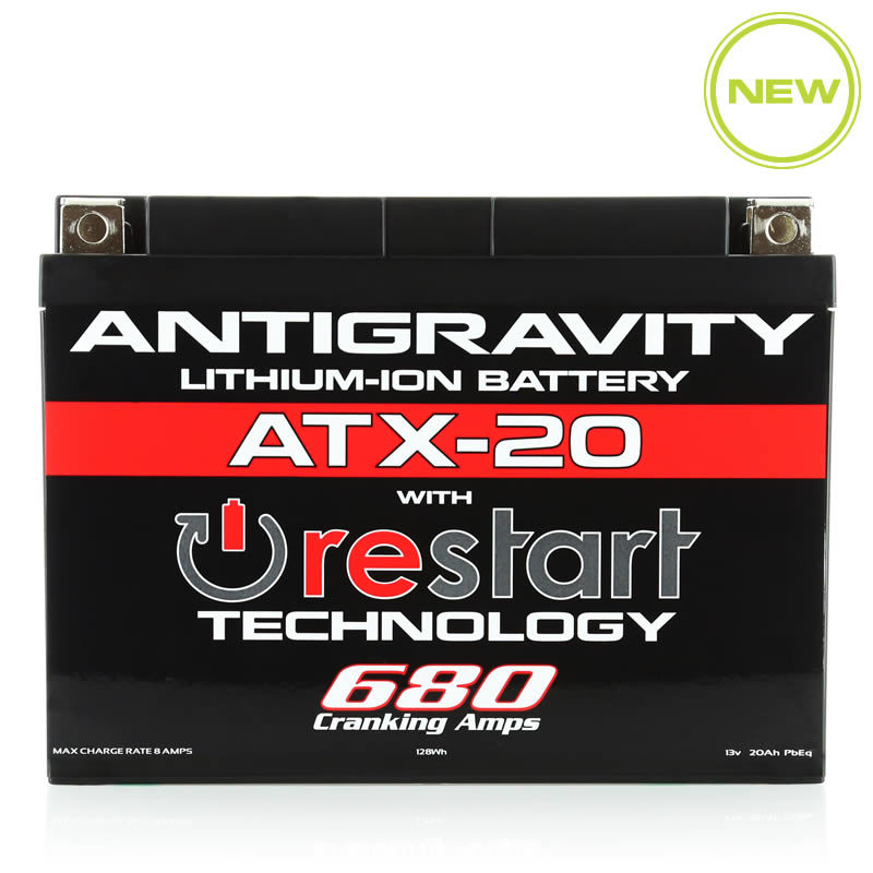 ATX-20 Re-Start Battery by Antigravity, front view