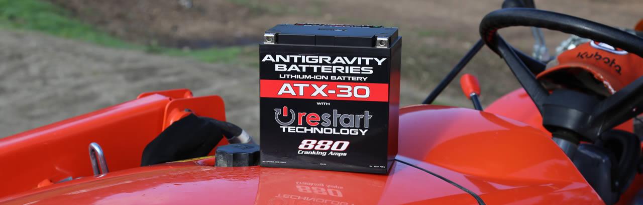 ATX30 ReStart Lightweight Lithium Battery